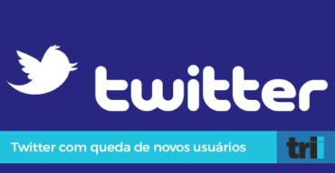 Twitter em queda