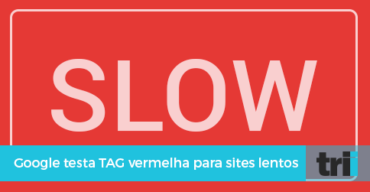 Tag vermelha para indicar sites lentos