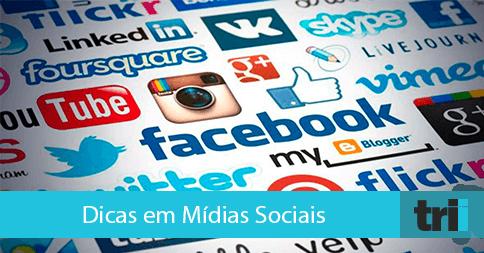 Dicas para mídias sociais