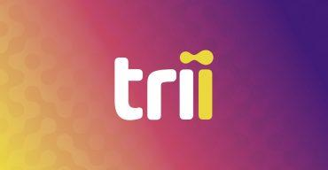 Novo logo da Trii